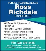 30 Website - Christchurch - Ross Richdale Plumbers 173023