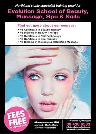 2021.100 Website - Whangarei -Evolution School of Beauty 563133